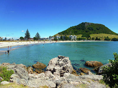 Photograph - Mount Maunganui Beach 8 - Tauranga New Zealand by Selena Boron