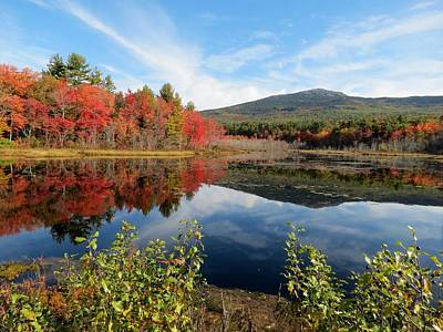 Photograph - Mount Monadnock Autumn by MTBobbins Photography
