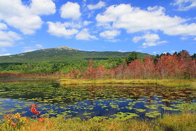 Mount Monadnock Photograph - Mount Monadnock Early Foliage by John Burk
