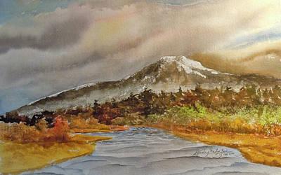 Mt. Monadnock Painting - Mount Monadnock  II by Harding Bush