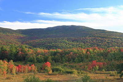Photograph - Mount Monadnock In Early Autumn by John Burk