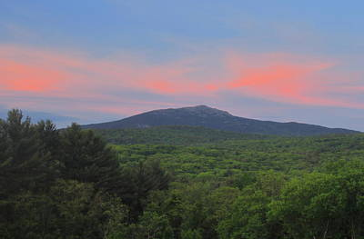 Mount Monadnock Photograph - Mount Monadnock Spring Sunset by John Burk