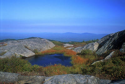 Mount Monadnock Photograph - Mount Monadnock Summit Pond by John Burk