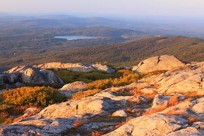 Mount Monadnock Photograph - Mount Monadnock Summit View by John Burk
