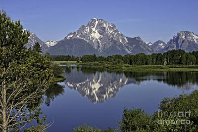 Tim Moore Photograph - Mount Moran Reflections by Tim Moore