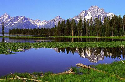 Mount Moran Tetons Nat'l Park Original by Alan Lenk