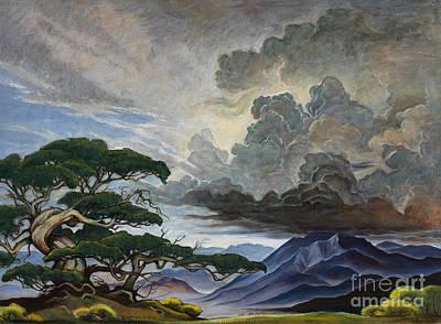 Painting - Mount Nebo by Erin Byrd Bartholomew