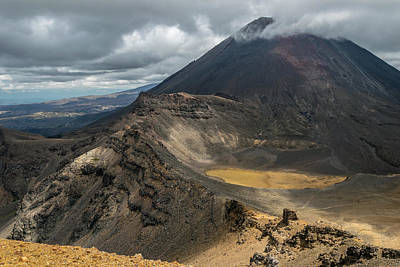 Photograph - Mount Ngauruhoe by Martin Capek