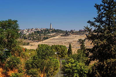 Photograph - Mount Of Olives, Jerusalem, Israel by Elenarts - Elena Duvernay photo