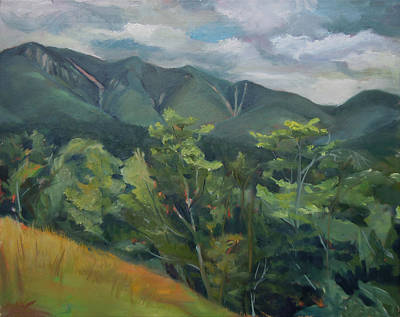 Painting - Mount Osceola From The Kank In New Hampshire by Nancy Griswold