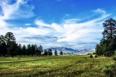 Photograph - Mount Pagosa Meadow by Mike Braun