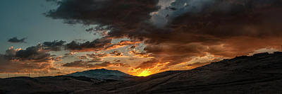 Photograph - Mount Peavine Sunset by Rick Mosher