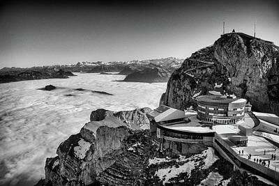 Photograph - Mount Pilatus, Lucerne by Jeremy Voisey