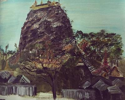 Painting - Mount Popa by Belinda Low