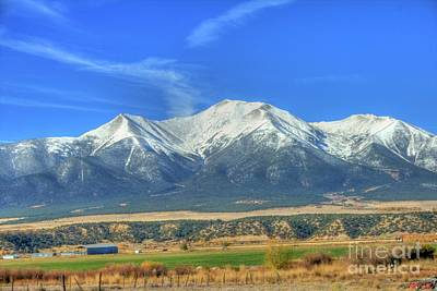 Photograph - Mount Princeton by Tony Baca