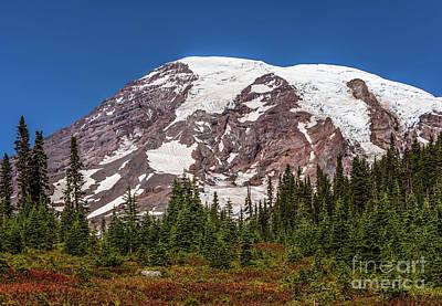 Northwest Photograph - Mount Rainier 11 by Marv Vandehey