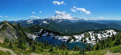 Mount Rainier And Eunice Lake 2 Art Print