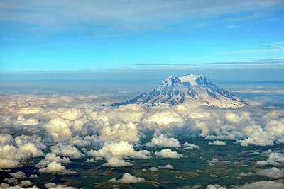 Photograph - Mount Rainier by Dan McManus