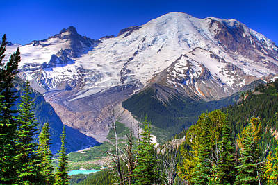 Photograph - Mount Rainier IIi by David Patterson