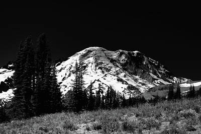 Photograph - Mount Rainier In Washington State by David Patterson