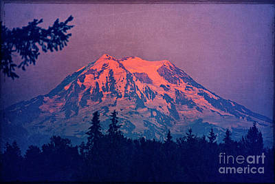 Photograph - Mount Rainier by Jim And Emily Bush
