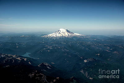Photograph - Mount Rainier  by Mae Wertz