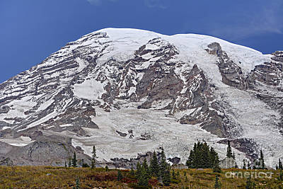 Mount Rainier Photograph - Mount Rainier by Marv Vandehey