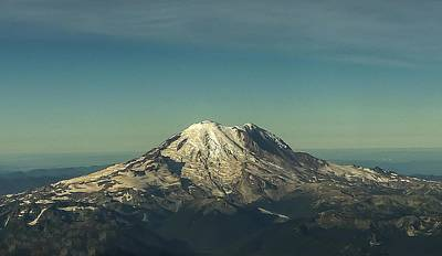Photograph - Mount Rainier by NaturesPix