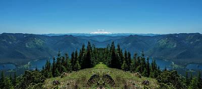 Mount Rainier Reflection 2 Art Print by Pelo Blanco Photo