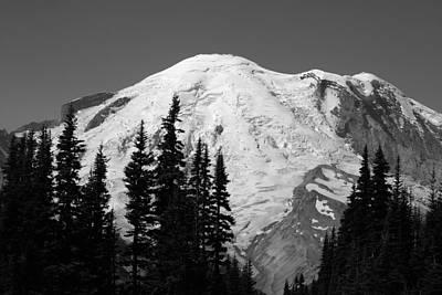 Mount Rainier Art Print by Sonja Anderson