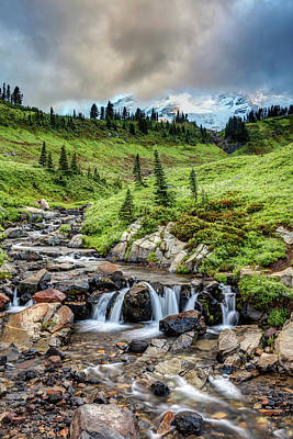 Photograph - Mount Rainier's Edith Creek by Pierre Leclerc Photography
