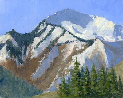 Painting - Mount Raymond by David King
