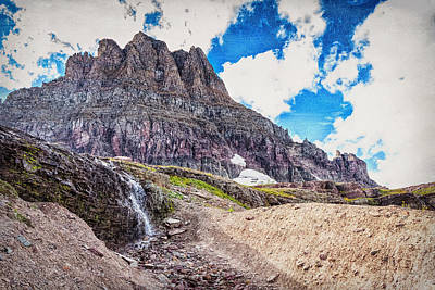 Photograph - Mount Reynolds by John M Bailey