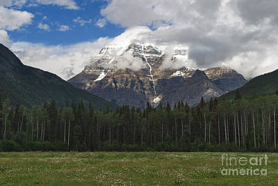 Photograph - Mount Robson by Charles Kozierok