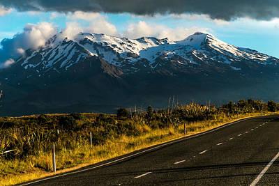 Photograph - Mount Ruapehu by Martin Capek