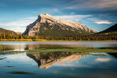 Photograph - Mount Rundle Banff by Pierre Leclerc Photography