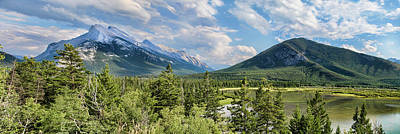 Photograph - Mount Rundle by Heather Applegate