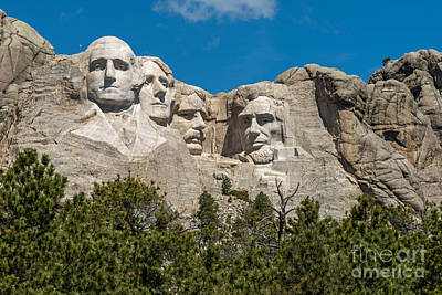 Photograph - Mount Rushmore 1 by Willie Harper