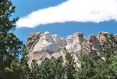 Photograph - Mount Rushmore 2 by John Foote