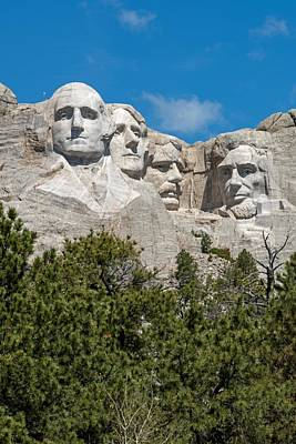 Photograph - Mount Rushmore 2 by Willie Harper
