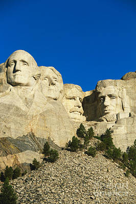 Patriot Hills Photograph - Mount Rushmore  by Gutzon Borglum
