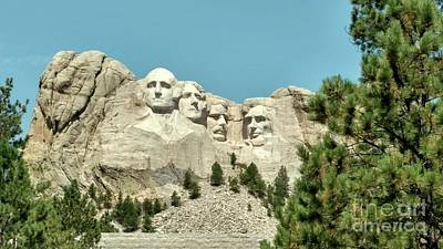 Photograph - Mount Rushmore by Kevin Croitz