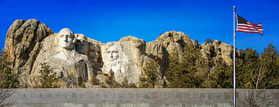 Photograph - Mount Rushmore National Memorial by Susan Rissi Tregoning