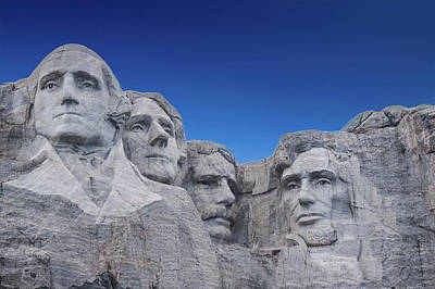 Thomas Jefferson Digital Art - Mount Rushmore National Monument In South Dakota by Art Spectrum
