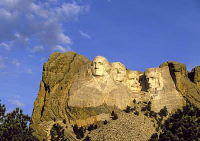 Mount Rushmore Photograph - Mount Rushmore Nhm by Buddy Mays
