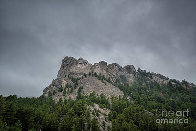 Politicians Royalty-Free and Rights-Managed Images - Mount Rushmore South Dakota by Michael Ver Sprill