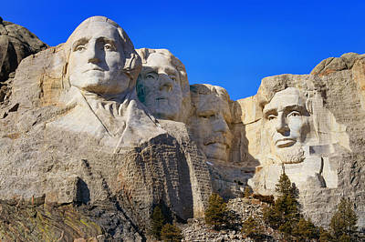 Photograph - Mount Rushmore by Susan Rissi Tregoning