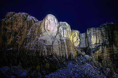 Mount Rushmore Photograph - Mount Rushmore Vii by Buddy Mays