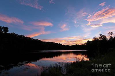 Photograph - Mount Saint Francis Sunset - D010121 by Daniel Dempster