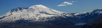 Photograph - Mount Saint Helens And Castle Lake by Tikvah's Hope